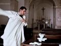 Vestizione di un confratello della Confraternita di Sant'Antonio