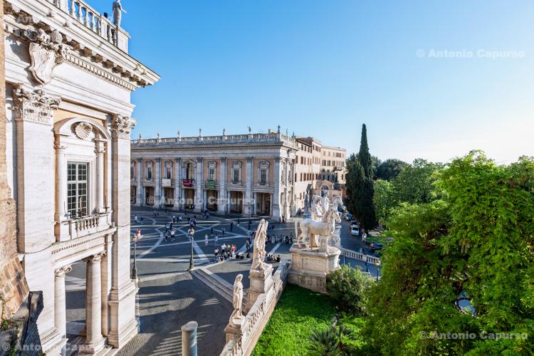 Capitoline Hill (Campidoglio), Rome - Italy, 2017