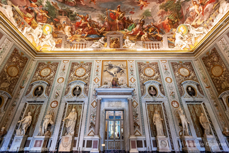 A room in Galleria Borghese, Rome - Italy, 2017