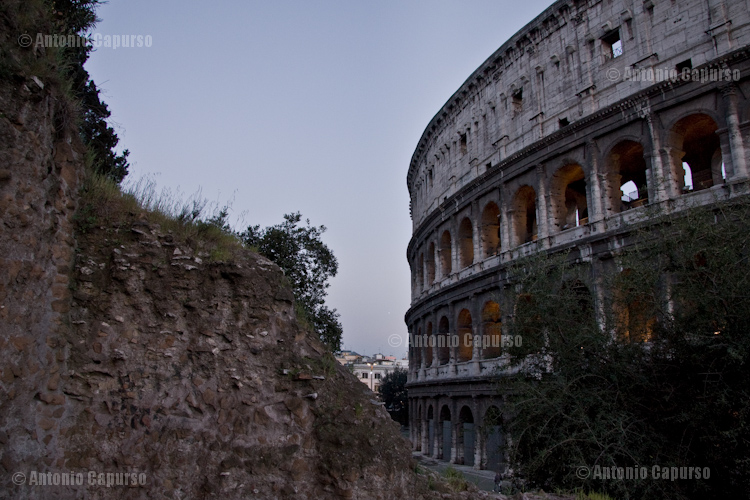 Colosseo, from Monte Oppio