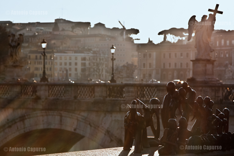 Arte africana a Ponte Sant'Angelo