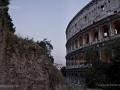 Colosseo, dal Monte Oppio