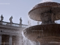 Saint Peter Square - Fountain and Statues