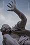 Fontana dei Quattro Fiumi presso Piazza Navona - Rio della Plata - Particolare