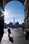 Piazza del Popolo dall'omonima Porta