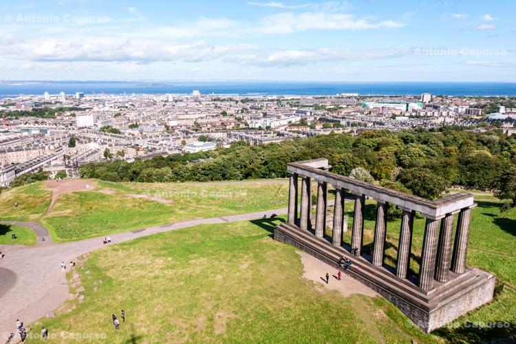 The Unfinished National Monument of Scotland - Edinburgh - Scotland, UK - 2012