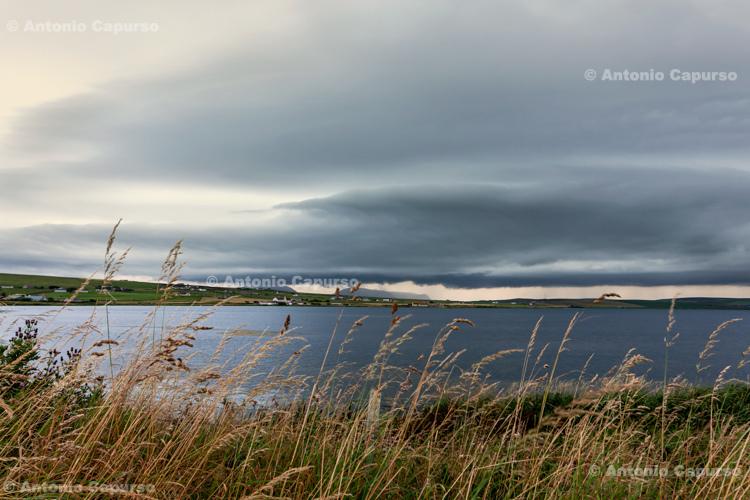 Storm on the horizon -  Stromness, Orkney Islands - Scotland - UK, 2012