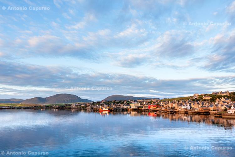 Stromness harbour - Orkney Islands - Scotland - UK, 2012