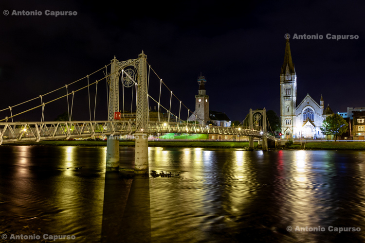 Greig Street Bridge, Inverness - Scotland, UK - 2012