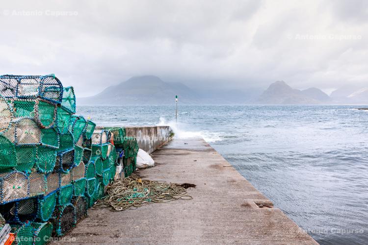 Fishermen village of Elgol on Isle of Skye - Scotland, UK - 2012