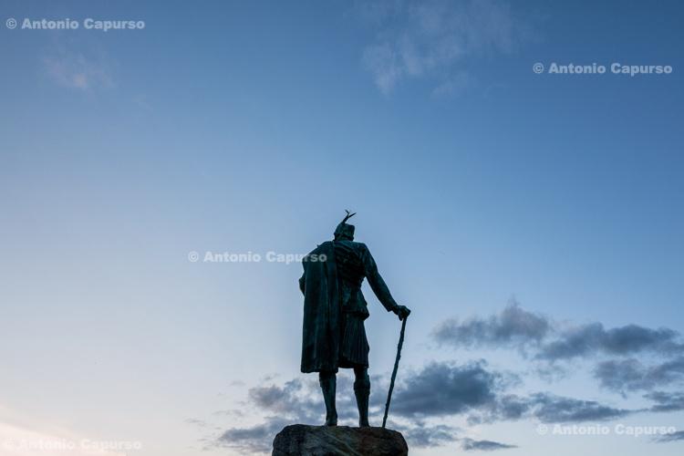 Statue of Donald Cameron of Lochiel - Fort William - Scotland, UK - 2012