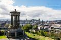 View from Calton Hill - Edinburgh - Scotland, UK - 2012