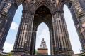 Statue of Sir Walter Scott in the Scott Monument - Edinburgh - Scotland, UK - 2012
