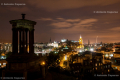 View from Calton Hill at night - Edinburgh - Scotland, UK - 2012