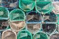 Fishing nets -  Elgol, Isle of Skye - Scotland, UK - 2012