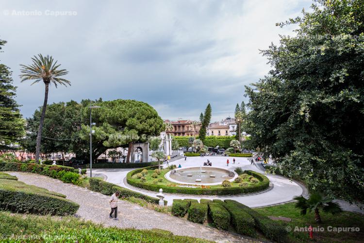 Bellini Garden (Villa Bellini) in Catania, Sicily - Italy, 2017
