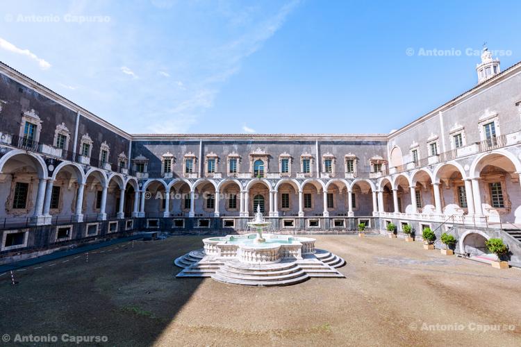 Monastery of San Nicolò l'Arena in Catania, Sicily - Italy, 2017