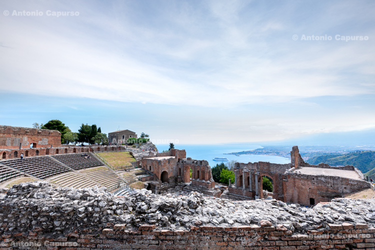 The ancient theatre of Taormina, Sicily - Italy, 2017