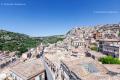City view of Modica, Sicily - Italy, 2017