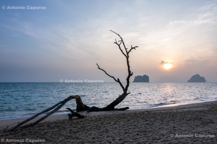 Sandy beach in the Koh Ngai island, in Ko Lanta Yai (2) - Thailand, 2013