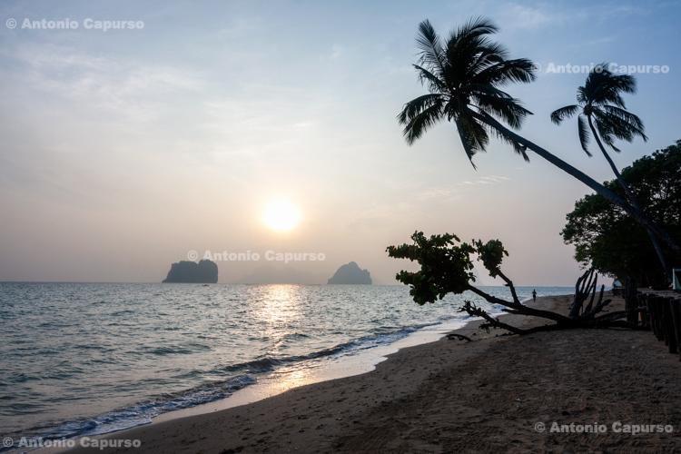 Sandy beach in the Koh Ngai island, in Ko Lanta Yai - Thailand, 2013