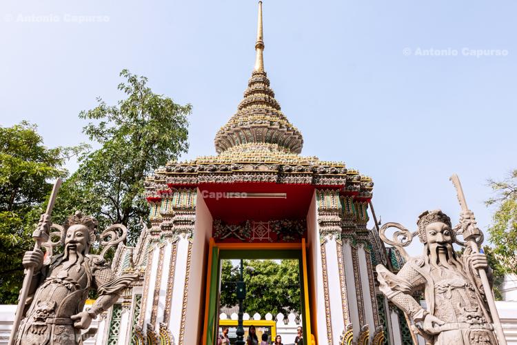 Entrance to the Wat Pho Temple - Bangkok - Thailand, 2013