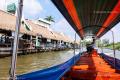 Along a khlong (canal)  in Bangkok - Thailand, 2013