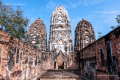 Ruins of the Sukhothai Kingdom - Sukhothai historical park - Thailand, 2013
