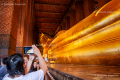 The Reclining Buddha in Wat Pho Temple - Bangkok - Thailand, 2013