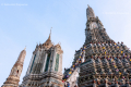 Wat Arun (Temple of the Dawn) in Bangkok - Thailand, 2013