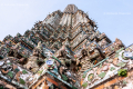 Wat Arun (Temple of the Dawn) in Bangkok (2) - Thailand, 2013