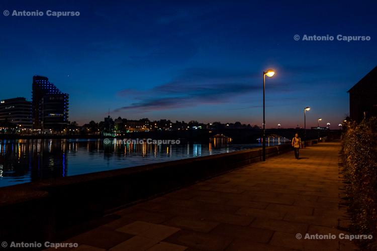 Night view in Putney - London, October 2015