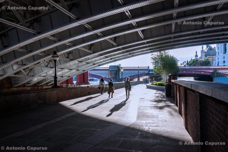 Under Blackfriars Bridge, Blackfriars - July 2014
