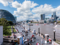 View from Tower Bridge, London - August 2014