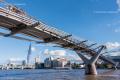 Millennium Bridge, City of London - August 2014