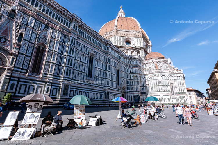 Cathedral of Saint Mary of the Flower - Florence, Italy - MAy 2016