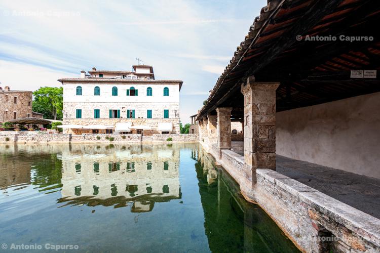 Bagno Vignoni, Orcia Valley - Tuscany, Italy - May 2016
