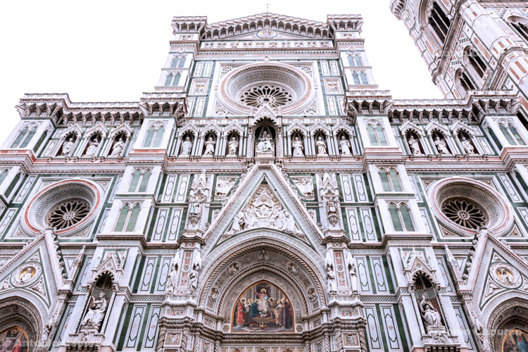 Florence Cathedral, facade - Florence (Tuscany) - Italy 2013