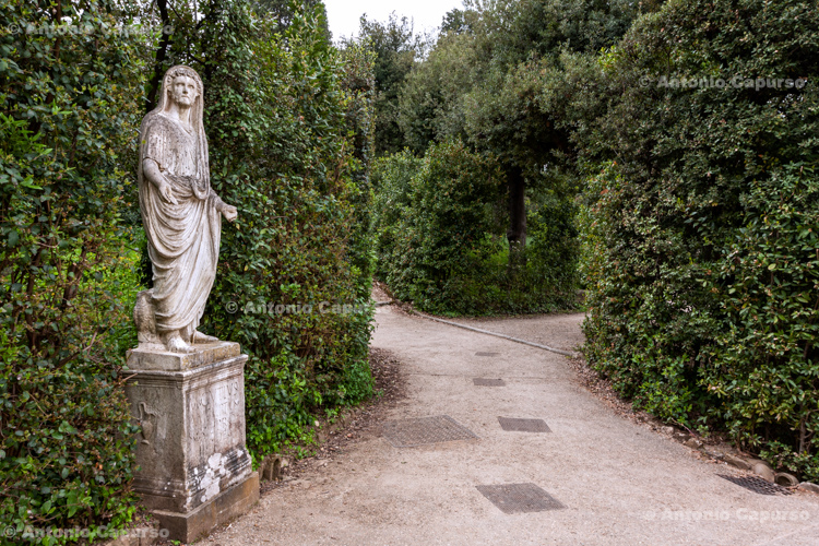 Boboli Gardens in Florence, Tuscany - Italy, 2013