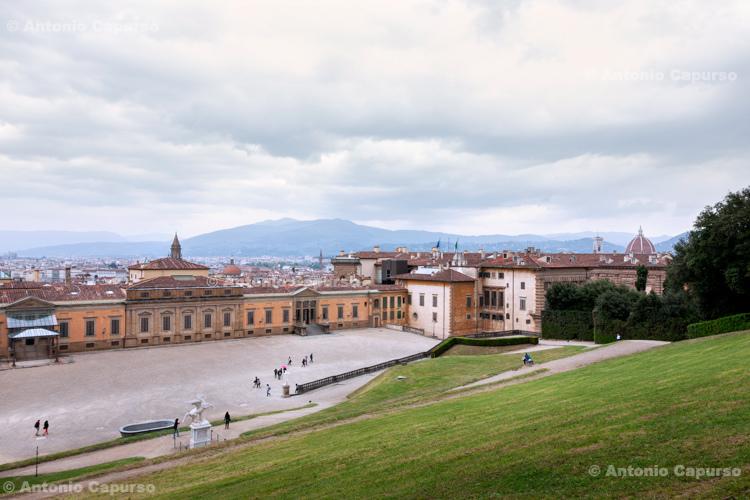 View of Palazzo Pitti from the Boboli Gardens - Firenze, Tuscany - Italy, 2013