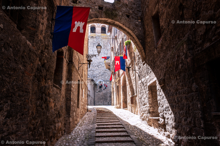 Medieval old town of Narni, Tuscany - Italy, 2013