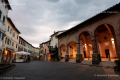 Medieval town of Montalcino -Tuscany, Italy - May 2016