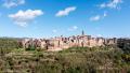 The hilltop town of Pitigliano in Maremma, Tuscany - Italy (November 2012)