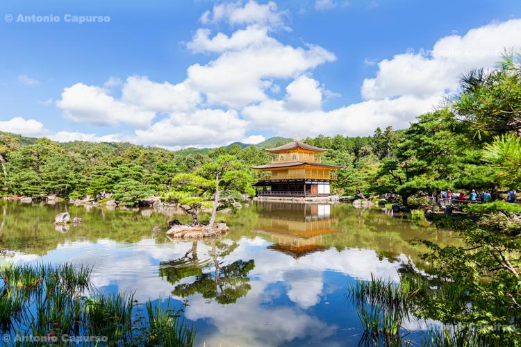 Kinkaku-ji, Temple of the Golden Pavilion - Kyoto, Japan (2018)